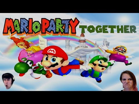 Mario Party 1 Together Part 4: Peach's Birthday Cake