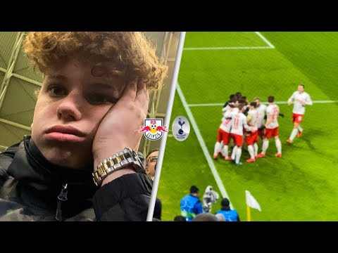 RB Leipzig 3-0 Tottenham! Away Champions League Match Day Vlog! Spurs get knocked out in the RO16.