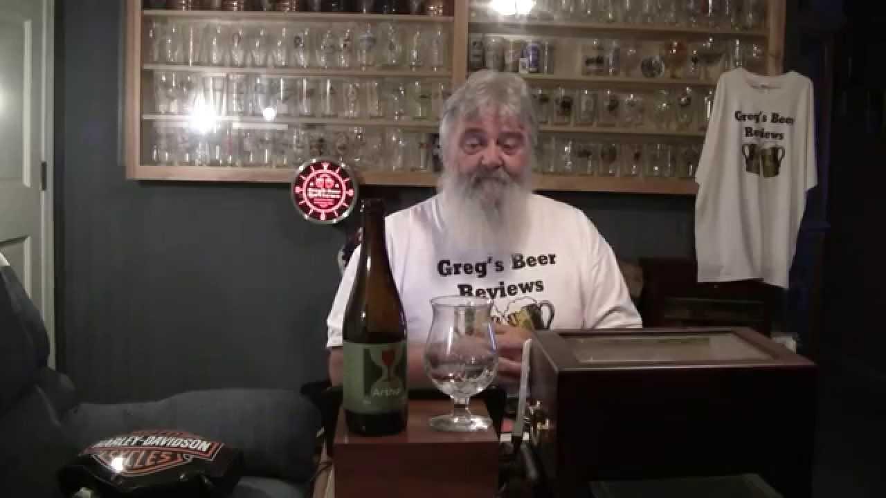 Beer Review 1414 Hill Farmstead Brewery Arthur Rustic Farmhouse Saison Yo