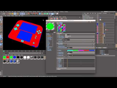C4D R17: Take System in Action