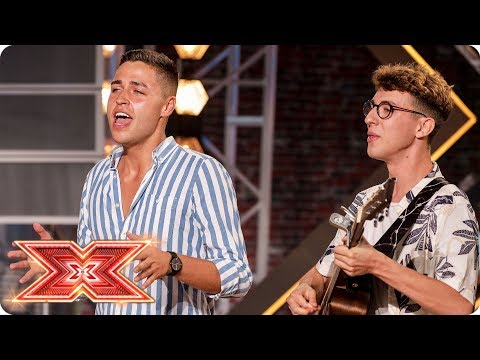 Will Jack & Joel's Ed Sheeran Mash-up Divide The Judges? | Auditions Week 1 | The X Factor 2017