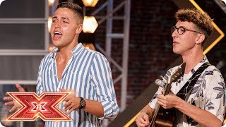 Will Jack & Joel's Ed Sheeran mash up Divide the Judges? | Auditions Week 1 | The X Factor 2017