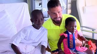 MCH : Olivier Giroud, ambassadeur au grand cœur