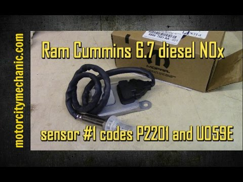 hqdefault ram cummins 6 7 diesel nox sensor 1 and codes p2201 and u059e  at bakdesigns.co