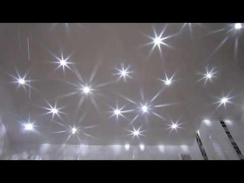 Потолок звездное небо с кристаллами Swarovski (Сваровски) от Арт-Мастер