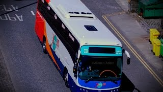 hellfire w manual mode volvo b9r plaxton panther 2   53628   route 10   stagecoach north