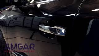 Универсальные доводчики дверей SlamStop на Lexus LX570