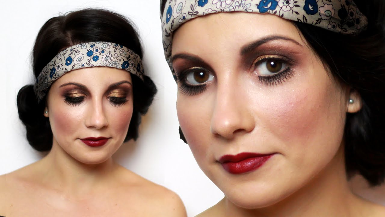 Flapper makeup tutorial