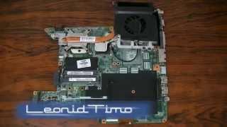 Замена процессора ноутбука.