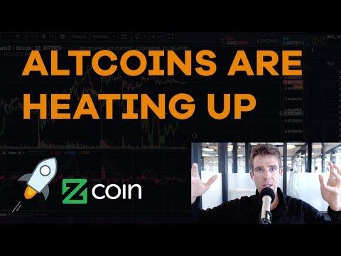 Altcoins Are Heating Up! Stellar Lumens, Zcoin, CME Futures, Novogratz, Strategies - CMTV Ep85