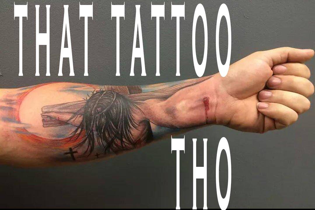 Epic Jesus Tattoo