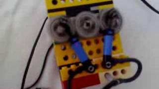 2 zylinder lego pneumatic motor 2