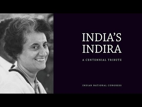 Unveiling of the book 'India's Indira - A Centennial Tribute', by Anand Sharma