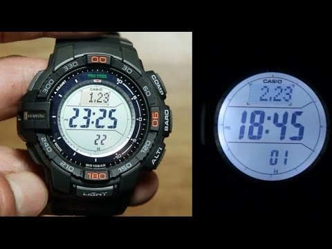 Casio Protrek PRG-270-1 *Unboxing, Sensor &  Light Demo