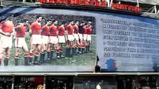 BUSBY BABES TRIBUTE - Champions Forever in a League of Their Own - from Red Sounds, Champion Songs