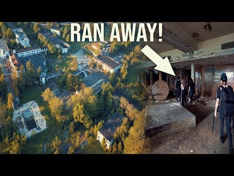 Strangers with weapons chased us Inside Abandoned Hotel!
