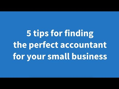 How to hire the perfect accountant for your small business