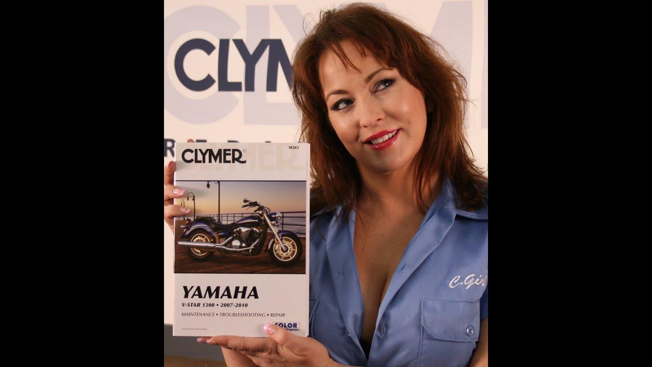 medium resolution of clymer manuals yamaha v star 1300 manual shop service manual vstar1300riders video