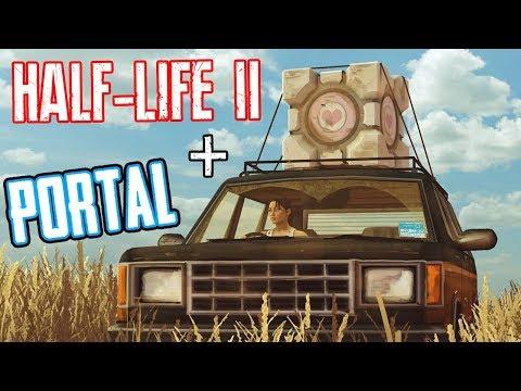 ЧЕЛЛ ИДЕТ ДОМОЙ! ► HALF-LIFE 2 + PORTAL!