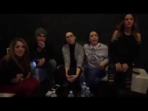 Interview Des Élèves de la Star Academy 4 et Nikos Pour le Prime Grégory Lemarchal