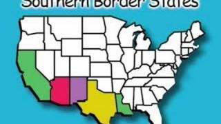 Southern Border States - States & Capitals Songs