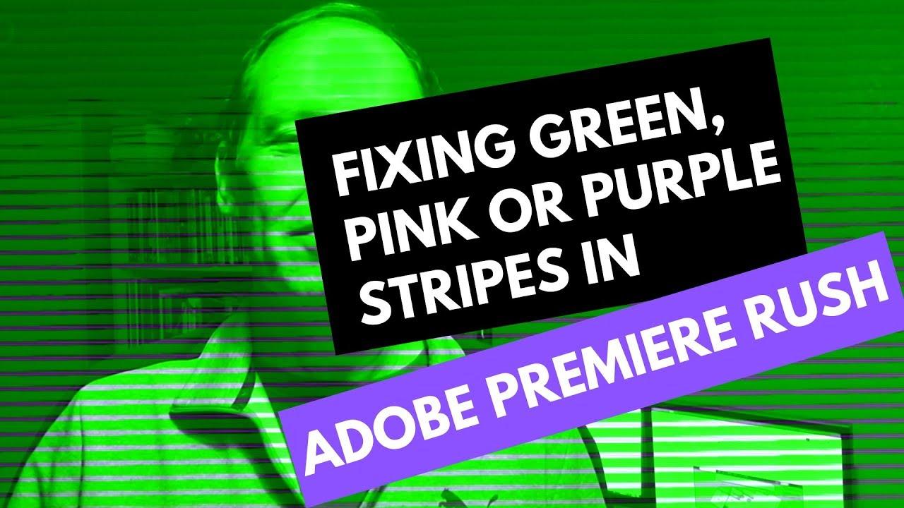 Purple and Green Videos | Adobe Community