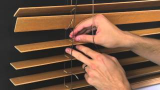 How to Restring a Horizontal Wood Blind