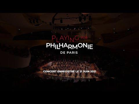 """Private concert """"Playing for Philharmonie de Paris"""" - Les Siècles & Societe Generale."""