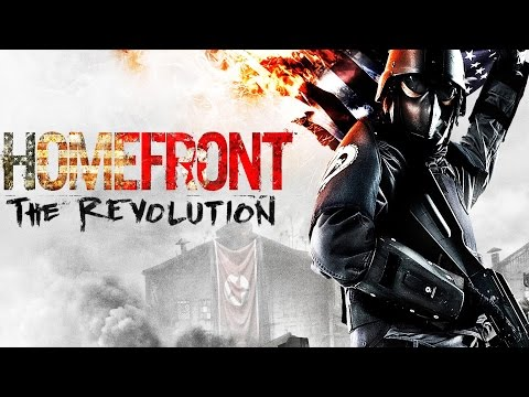 Homefront The Revolution All Cutscenes Movie Game Movie (1080p) FULL STORY