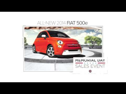 FIAT of Palm Springs - Memorial Day Sale!