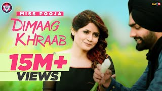 Video Dimaag Khraab | Miss Pooja Featuring Ammy Virk | Latest Punjabi Songs 2016 | Tahliwood Record download MP3, 3GP, MP4, WEBM, AVI, FLV Juli 2018