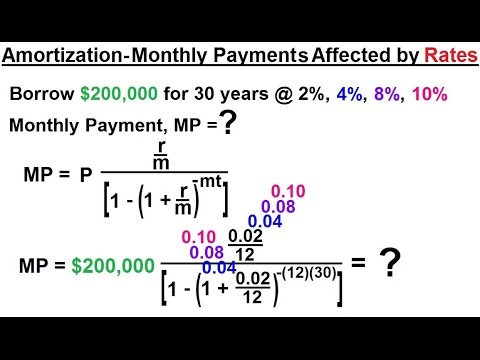 business-math---finance-math-(18-of-30)-amortization---monthly-payments-affected-by-interest-rates