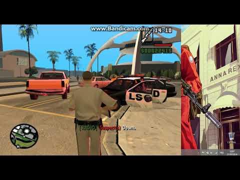 GTA San Andreas POLICE MOD