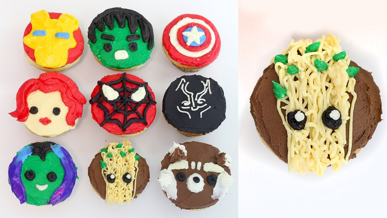 How To Make An Avengers Cake