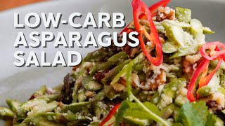 1-Min Recipe • Low-carb asparagus salad