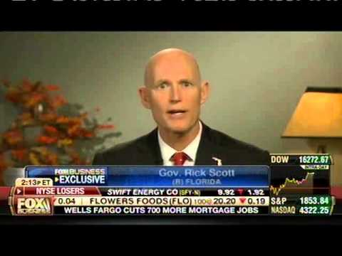Governor Scott Talks Florida's Booming Economy on Fox Business Network