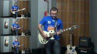 Hino do Cruzeiro na guitarra - Caique Sousa