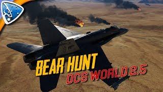 DCS World 2.5: Bear Hunt (F/A-18c Gameplay)