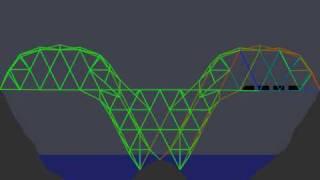Bridge Building Game - New - Level 15 - 22200