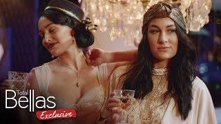 The Bella Twins throw a Downton Abbey party! - Total Bellas Exclusive