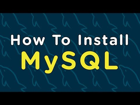 How To Install MySQL (Server And Workbench)
