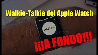 Cómo funciona el WALKIE TALKIE del Apple Watch ⌚️[GUÍA DEFINITIVA]