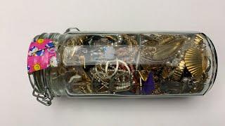 Jewelry Jar Unjarring $16.99 Vintage Items