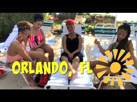 We're back! Travel Vlog: Orlando FL Part 1 | More Black Vloggers
