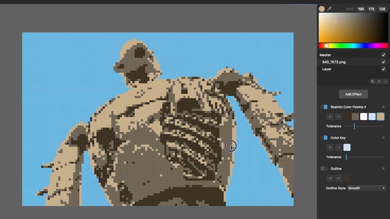 Pixelmash Quick Take: Converting A Photo To Pixel Art