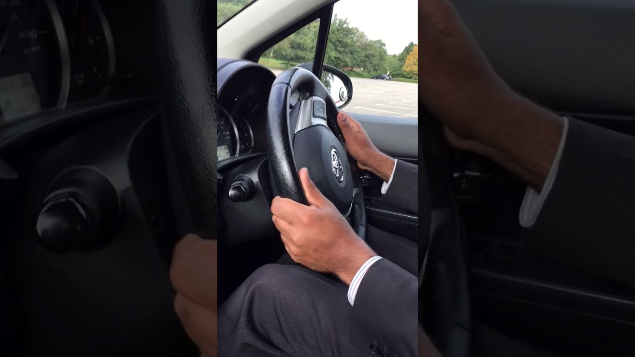 How to use Steering Wheel correctly, easy Pull & Push