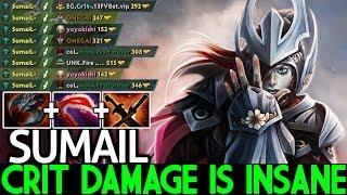 SUMAIL [Phantom Assassin] This Crit Damage is Insane No Mercy 20 Kills 7.23 Dota 2