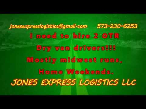 Jones Express Logistics Hiring