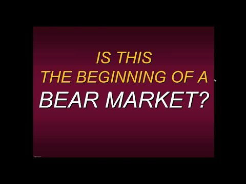 Steven Primo's Is This The Beginning Of A Bear Market
