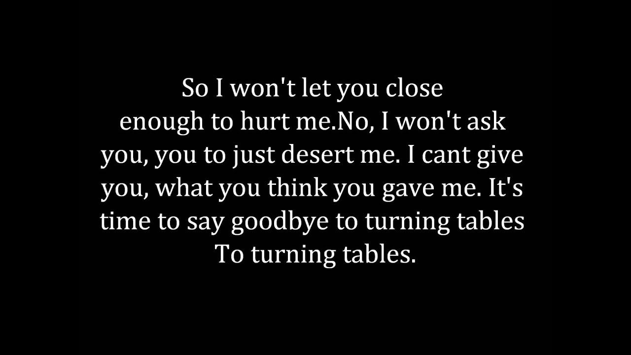 Adele turning tables lyrics youtube - Traduction turning tables adele ...